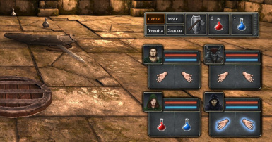 Legend of Grimrock Quick Action Bar 02