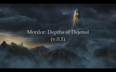 Mordor the Depths of Dejenol