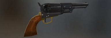 Colt Walker Civil War Revolver