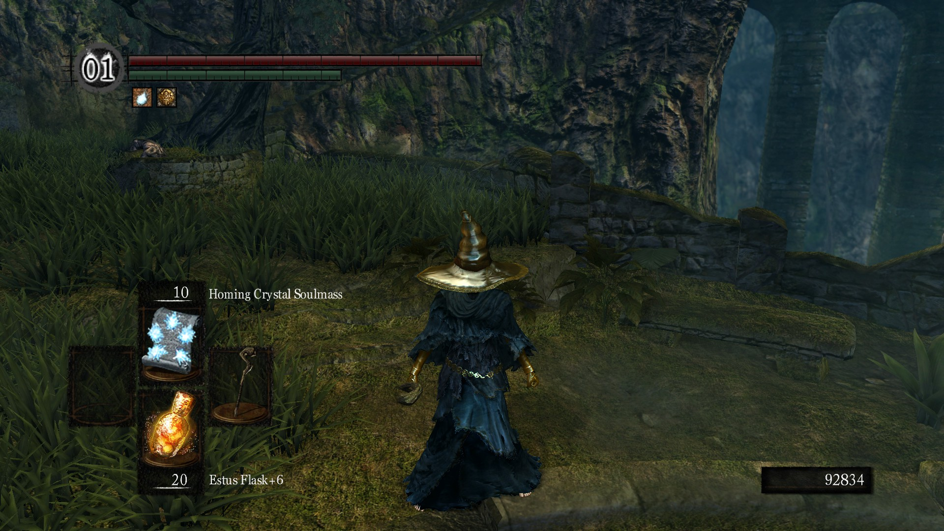 Black Mage From Final Fantasy I At Dark Souls Nexus Mods And
