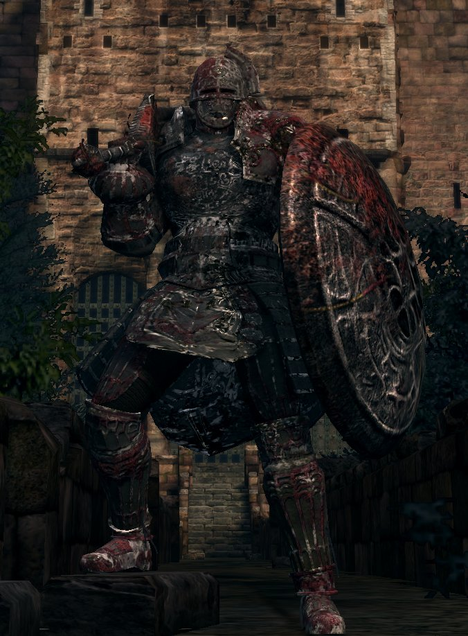 Real stone knight at dark souls nexus mods and community