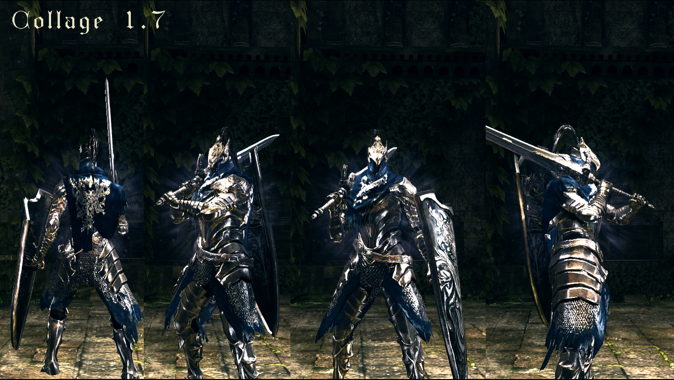 how to get black knight armor in dark souls 2