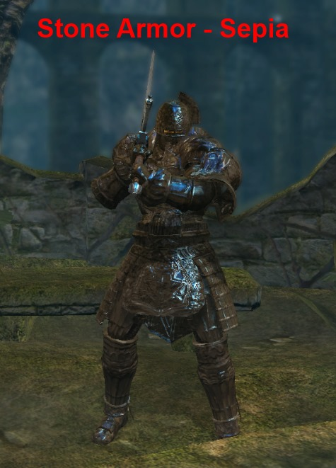 Stone armor recolored at dark souls nexus mods and community