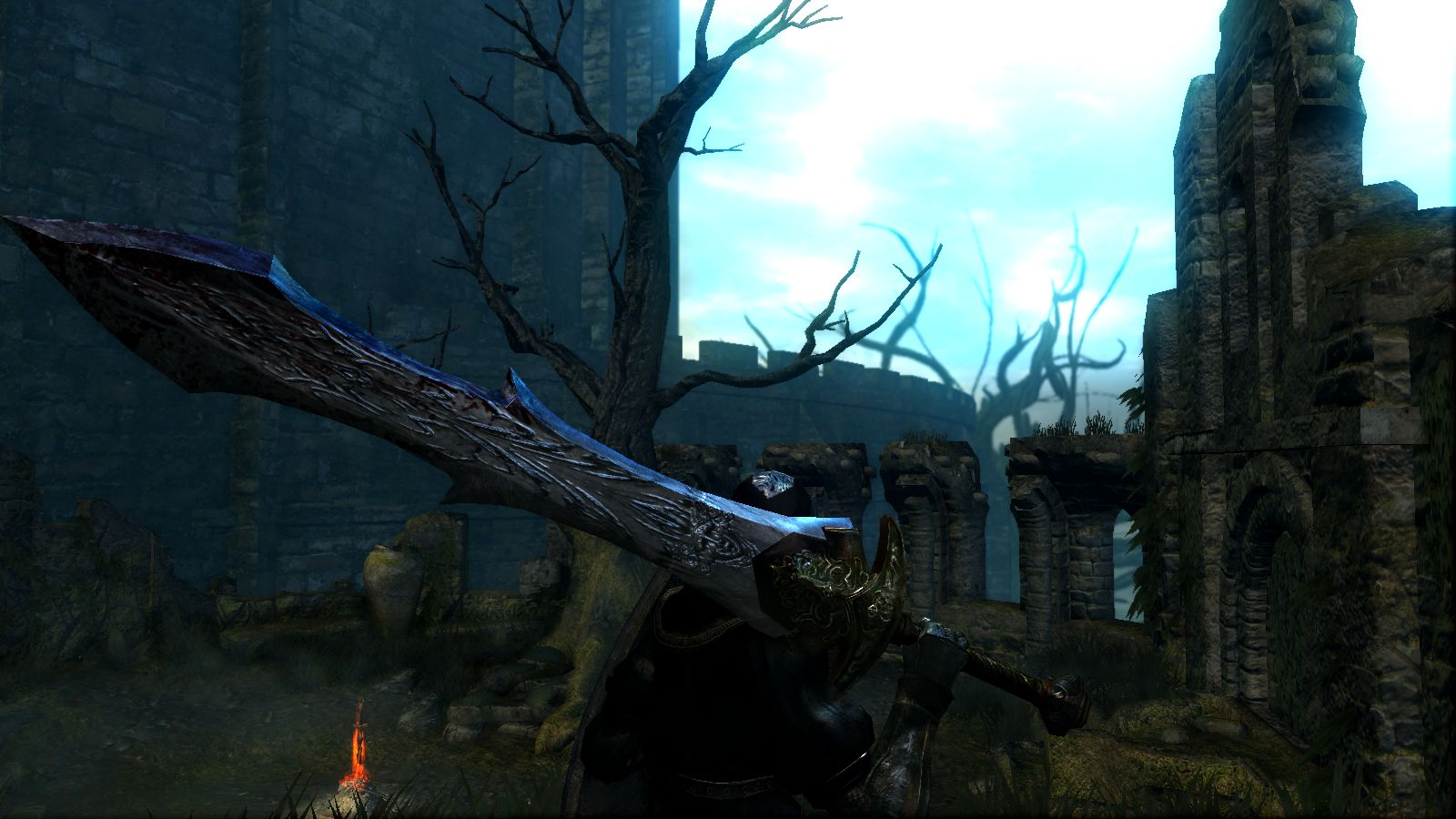 Black Knight Great Sword Retexture At Dark Souls Nexus Mods And
