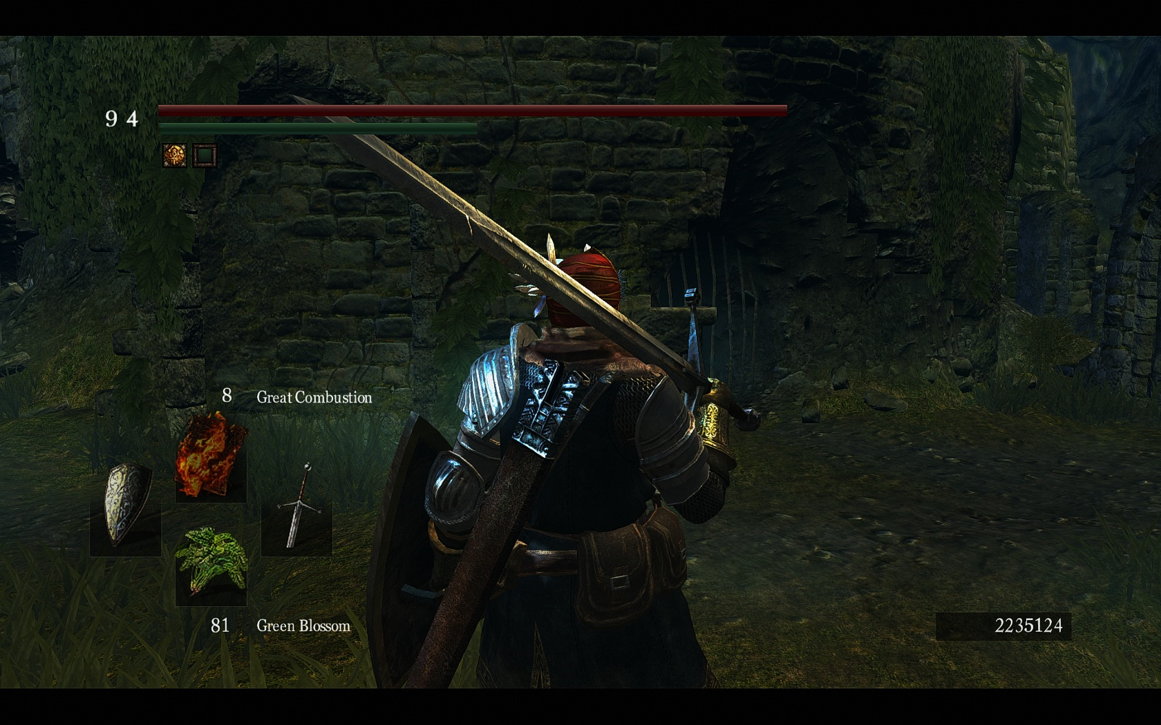 how to get claymore darksouls