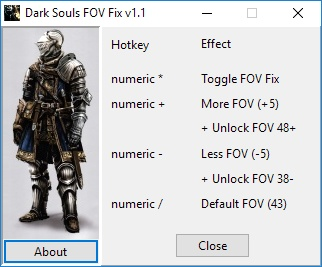 Dark Souls FOV Fix (for original Steam game and Remastered Edition)