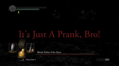 It's Just A Prank Bro - You Died Replacement