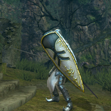 Balder Shield Retexture to Painted Guardian Shield