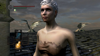 Human-like hollow character appearance