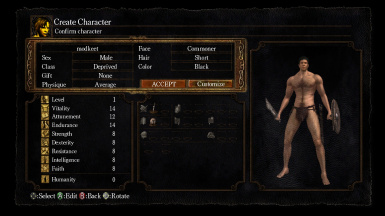 Enhanced Starting Classes PtDE at Dark Souls Nexus - mods