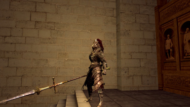 Plume for Ornstein's helm