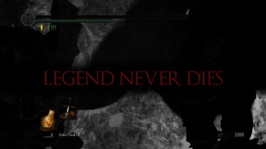 LEGEND NEVER DIE Death Screen