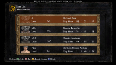 Dark Souls PTDE NG2 DLC w-extra save game file .