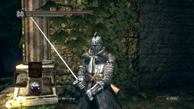 Wanderer Faraam Sellsword Knight (Forossa Dark Souls 2) DS2