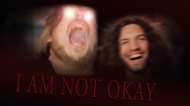 I AM NOT OKAY - Game Grumps Death Screen (Visual and Audio included)