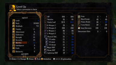 Mobility Mod - Resistance Stat Increases Equip Load Limit