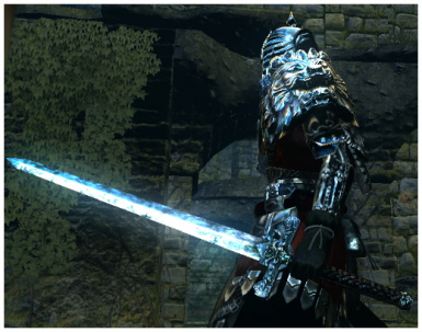Re-Texture of Sunlight Straight Sword