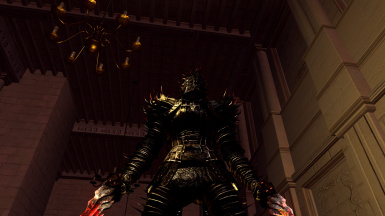 Blood Thorn set - thorn armor and claws retexture
