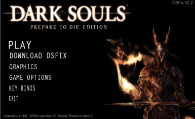 Dark Souls Fixed Edition - Launcher - Updated for DSfix 2-2