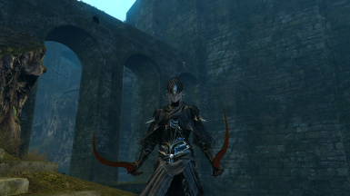 Black and White Lord Blade Set