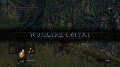 You regained lost soul
