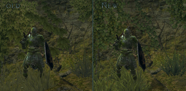 ivy and grass comparison