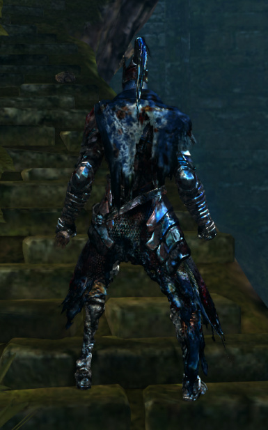 Artorias HD Bloody Set Back