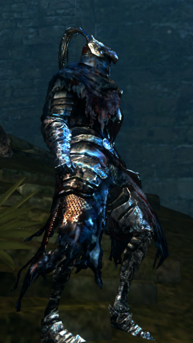 Artorias HD Bloody Set Right