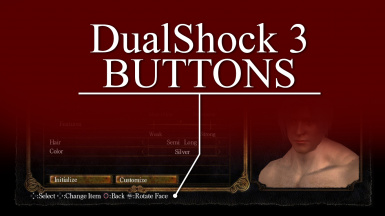 DualShock 3 Interface Icons