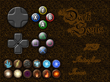 DS HD Interface Icons