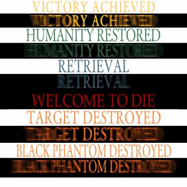 WELCOME TO DIE Death Message