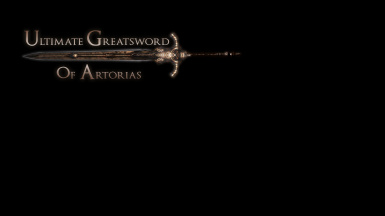 Ultimate Greatsword of Artorias - DS1 Edition