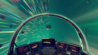 No Speed Lines and Particles in Space