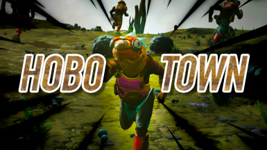Hobo Town - Roaming Walking NPCs
