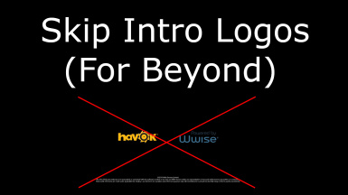 Skip Intro Logos (For Beyond)