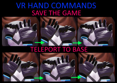 VR Hand Commands