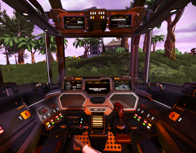 VR Ship Panel Functions (WIP)