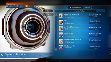 Too Many Items Planet Galactic Trade Network