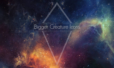 Bigger Creature Icons