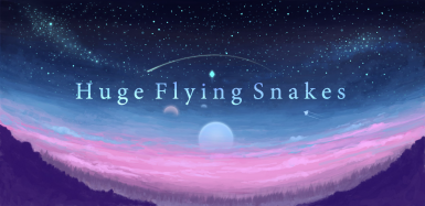 Huge Flying Snakes