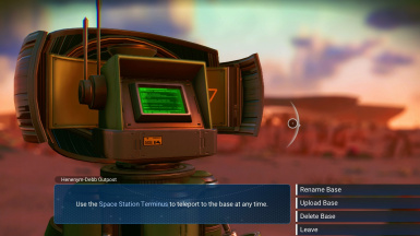 Base Computer Mission Timer Options