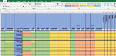 NMS Information Tracking Spreadsheet