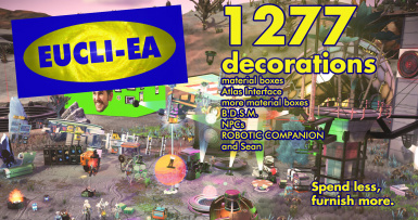 Eucli-ea - More buildable decorations and structures