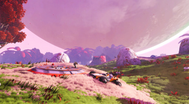 No Man's Sky The community Update Mods Pack WILD version