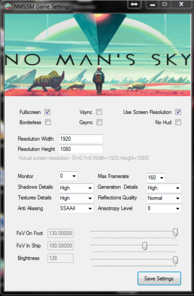 NMS Saves and mods Manager