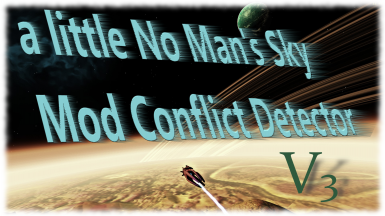 NMS-MCDAMM - a little No Man's Sky Mod Conflict Detector and ModManager --- edit - compare - merge