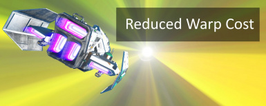 Reduced Warp Cost (NEXT 1.61)