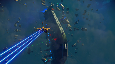 More freighters and spacebattles NEXT - update