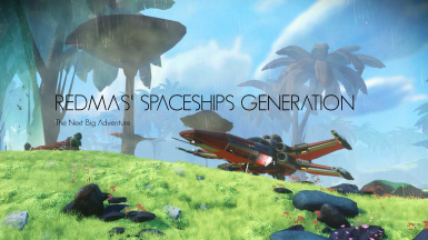 Redmas' Spaceships Generation - The Next Big Adventure - 4V1S10NS