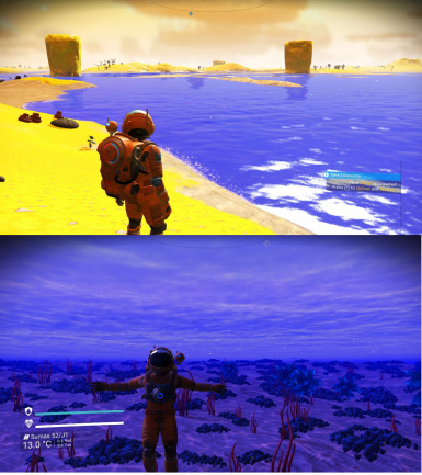 Water Colors Overhaul for Visions  at No Man's Sky Nexus - Mods and